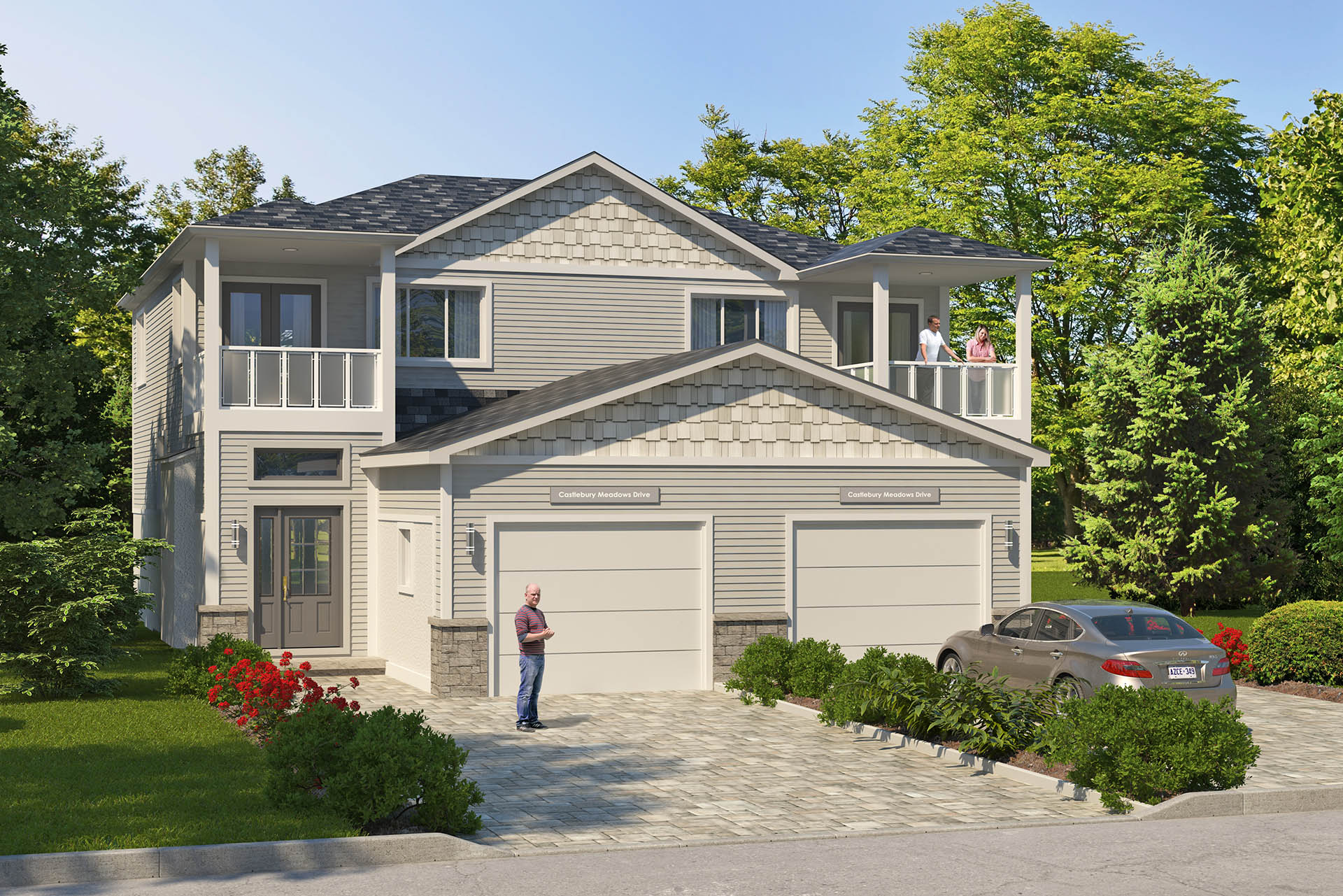 NWF - Exterior - 2 Story